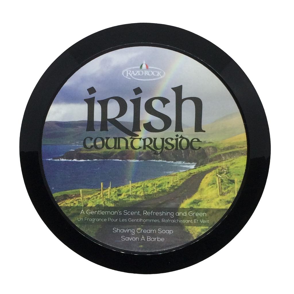 RazoRock Irish Countryside Shaving Cream Soap  | Agent Shave | Wet Shaving Supplies UK