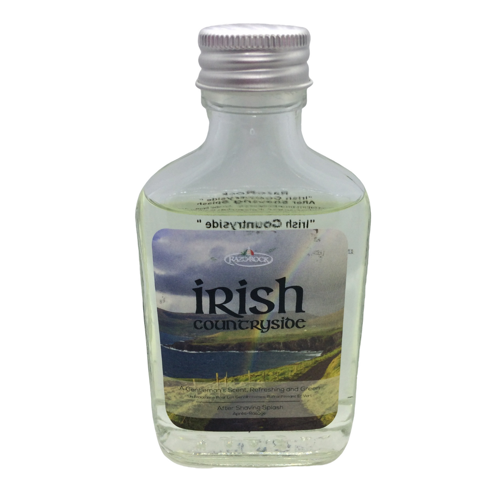 RazoRock Irish Countryside Aftershave Splash 100ml | Agent Shave | Wet Shaving Supplies UK
