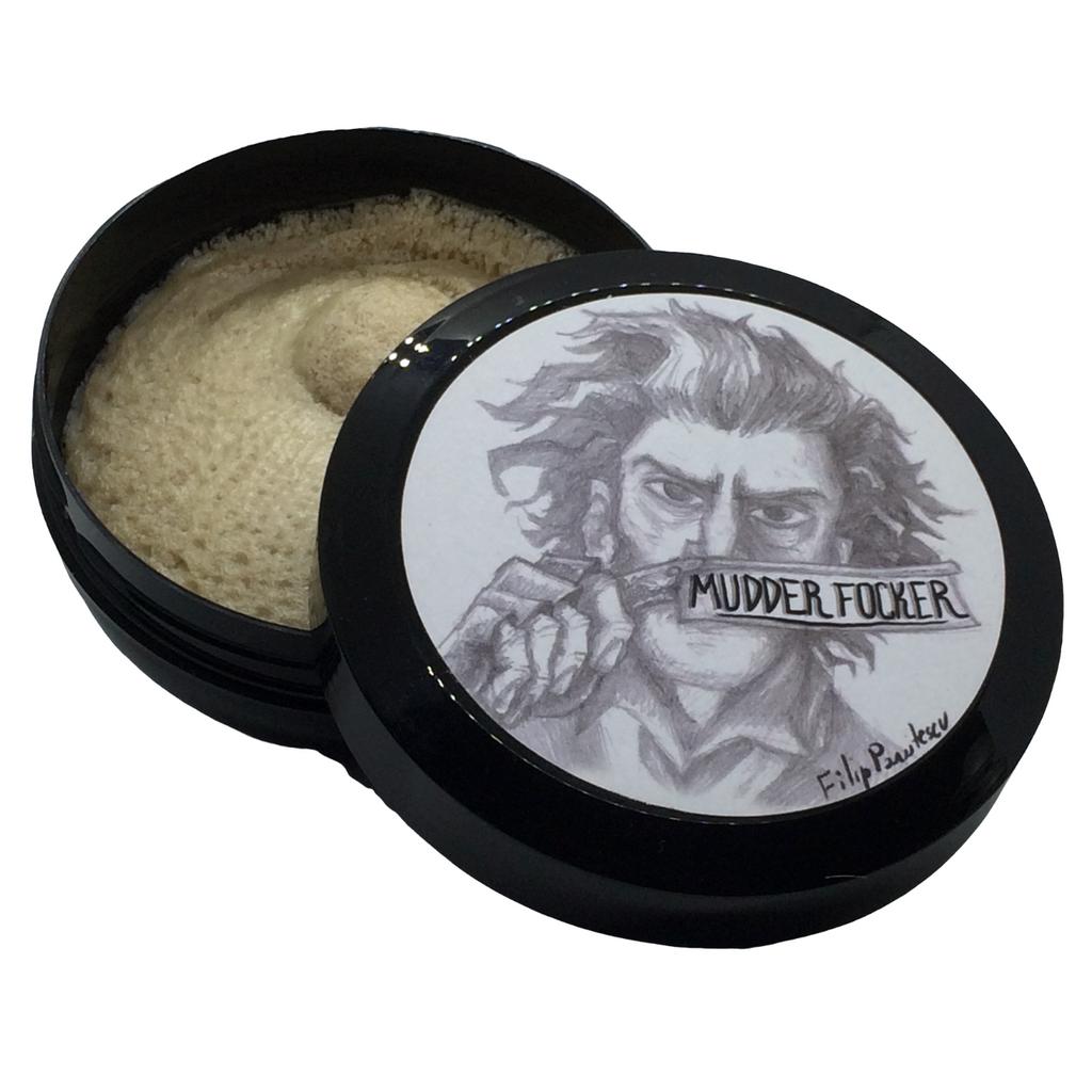 RazoRock Mudder Focker Shaving Soap 150ml | Agent Shave | Wet Shaving Supplies UK