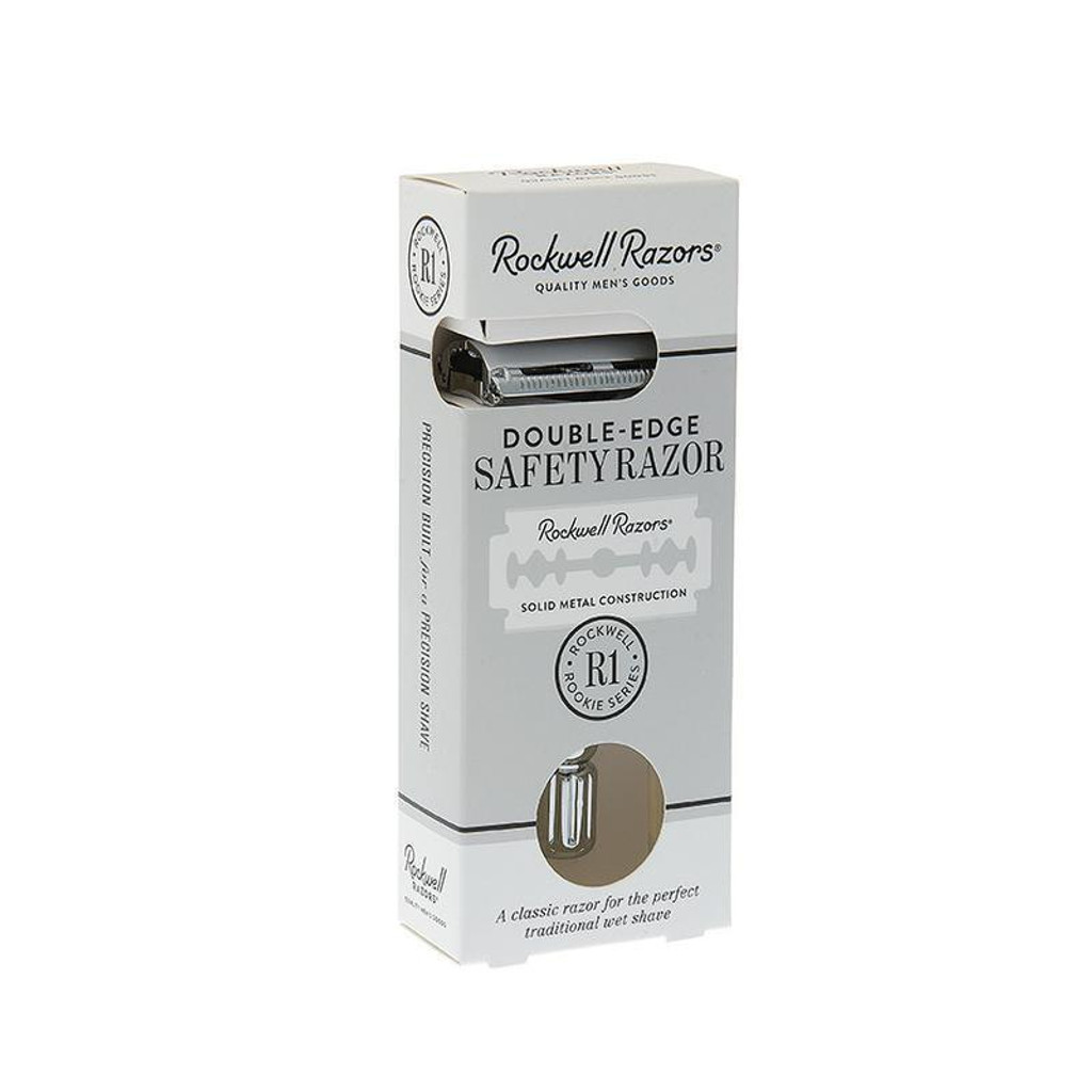 Rockwell Razors R1 Double Edge Safety Razor | Agent Shave | Wet Shaving Supplies UK