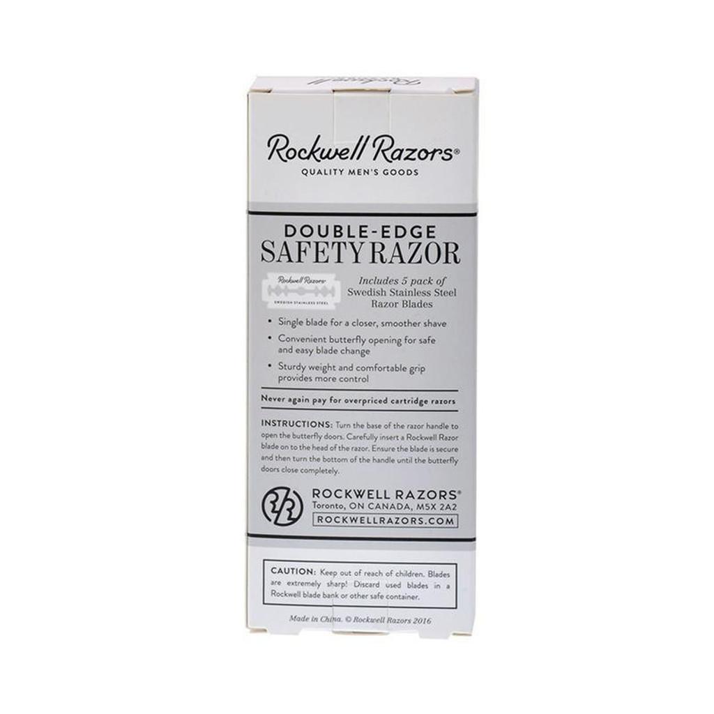 Rockwell Razors R1 Double Edge Safety Razor   Agent Shave   Wet Shaving  Supplies UK