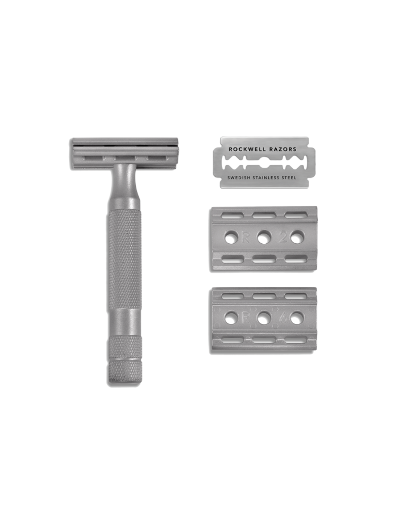 Rockwell 6S Adjustable Safety Razor | Agent Shave | Traditional Wet Shaving