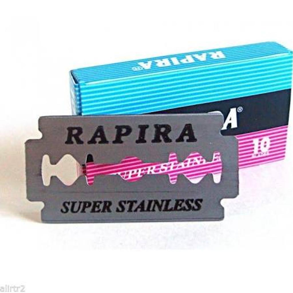 Rapira Pink Safety Razor Blades | Agent Shave | Wet Shaving Supplies Uk