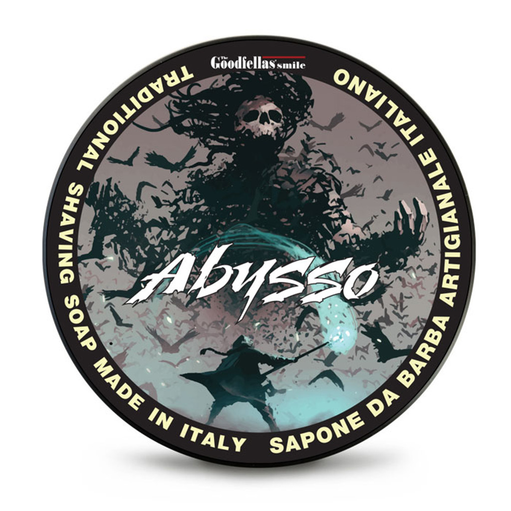 The Goodfellas Smile Abysso Shaving Soap 100ml   Agent Shave   Traditional Wet Shaving