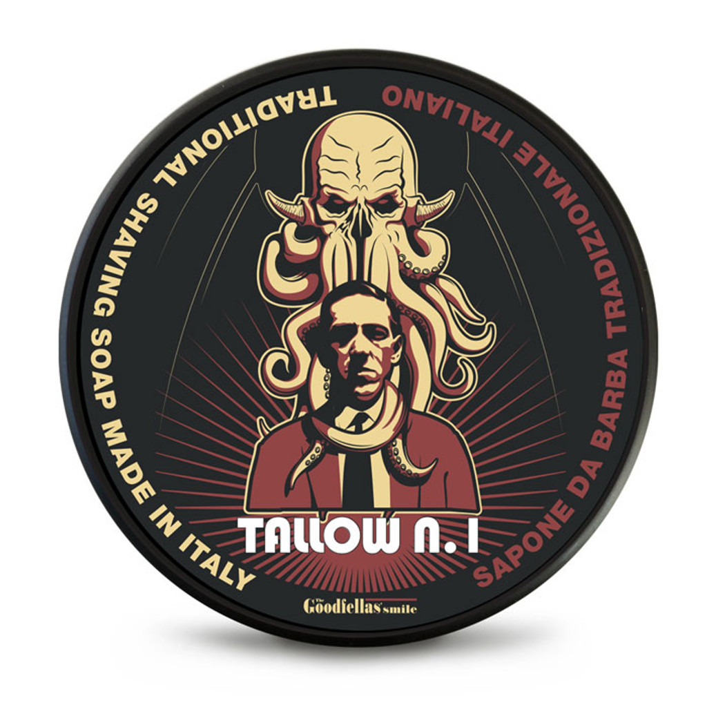 The Goodfellas Smile Tallow N.1 Shaving Soap 100ml | Agent Shave | Traditional Wet Shaving