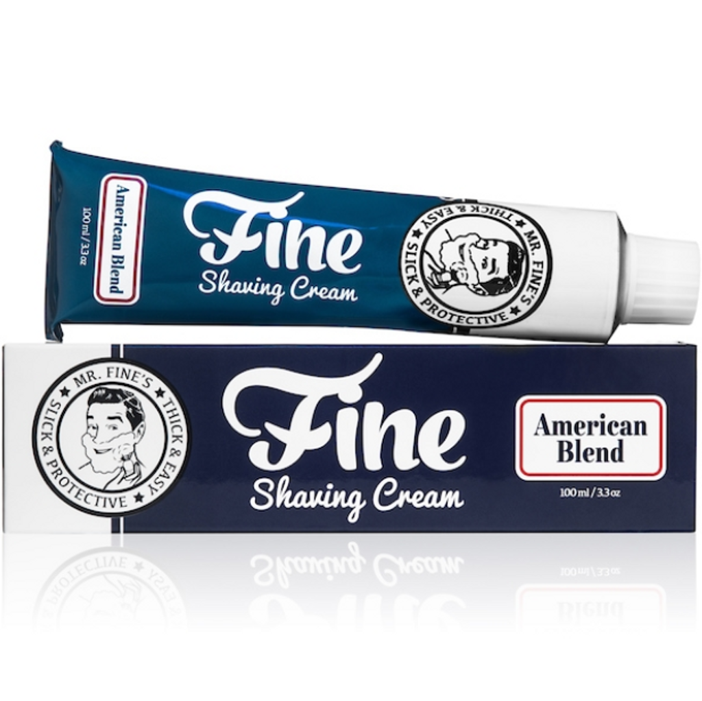Fine Accoutrements Shaving Cream - American Blend 100g | Agent Shave | Traditional Wet Shaving