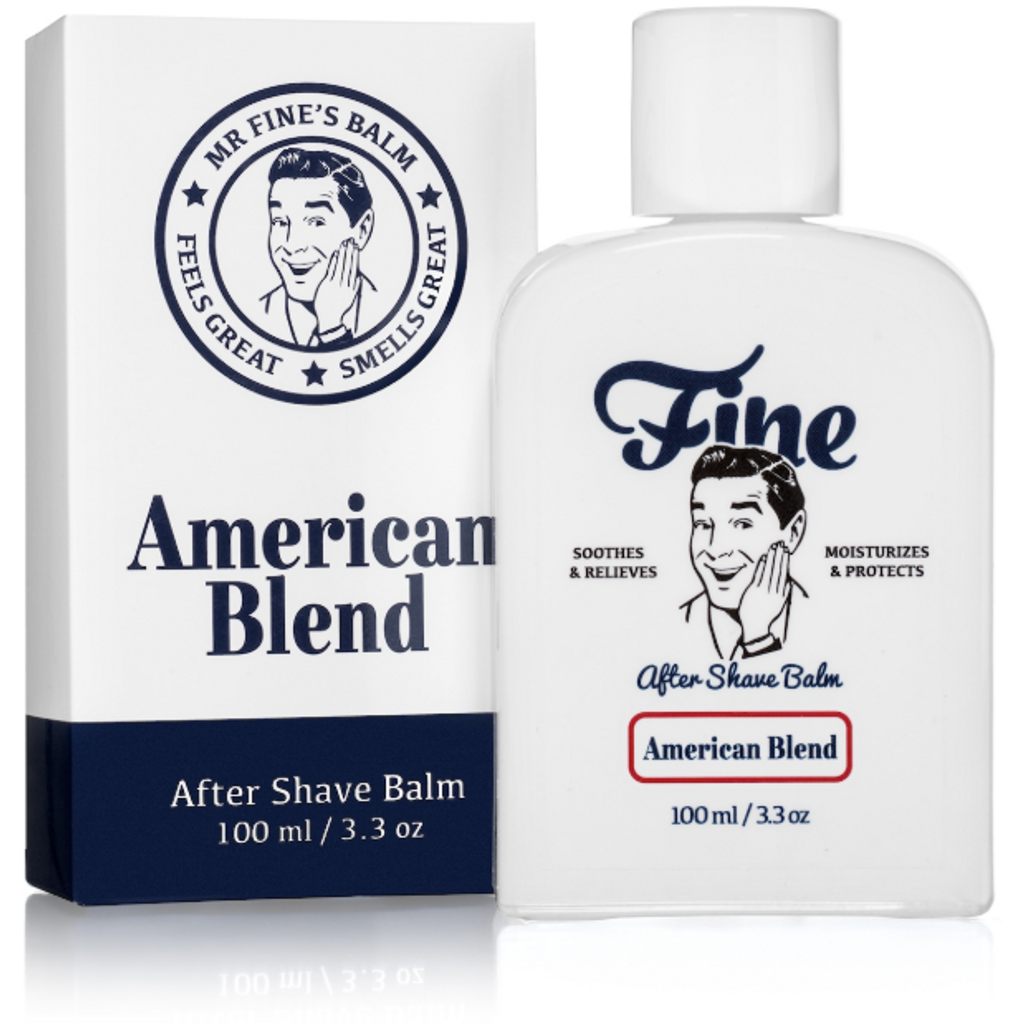 Fine Accoutrements After Shave Balm - American Blend 100ml | Agent Shave | Traditional Wet Shaving
