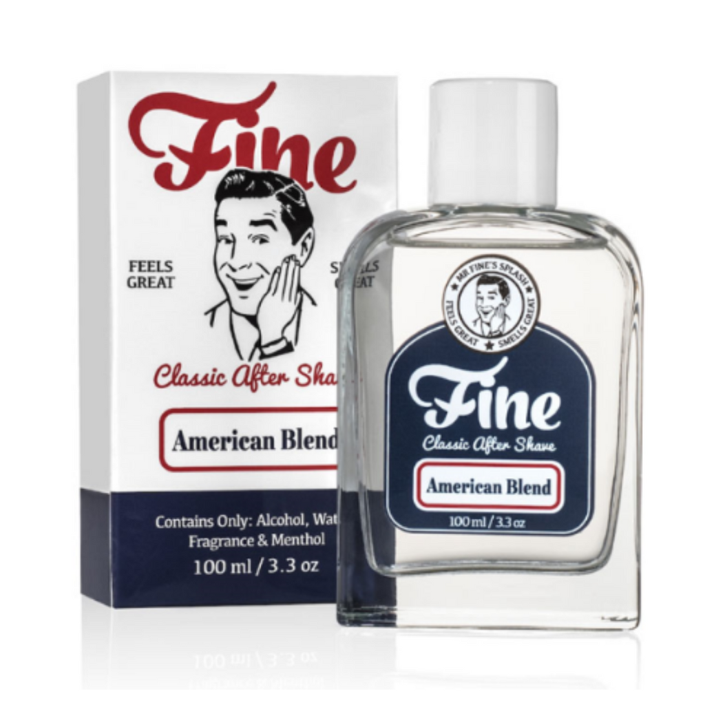 Fine Classic After Shave - American Blend 100ml | Agent Shave | Wet Shaving Supplies Uk