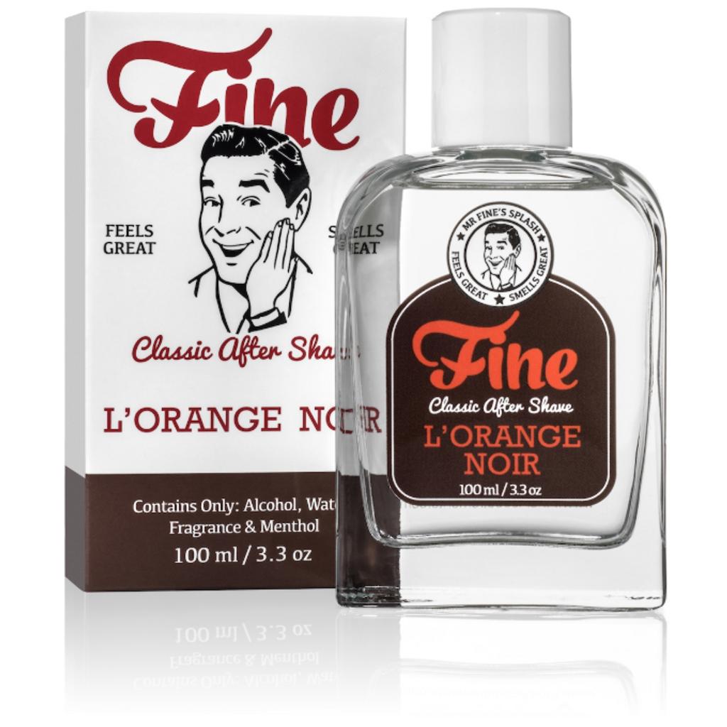 Fine Classic After Shave - L'Orange Noir 100ml | Agent Shave | Wet Shaving Supplies UK