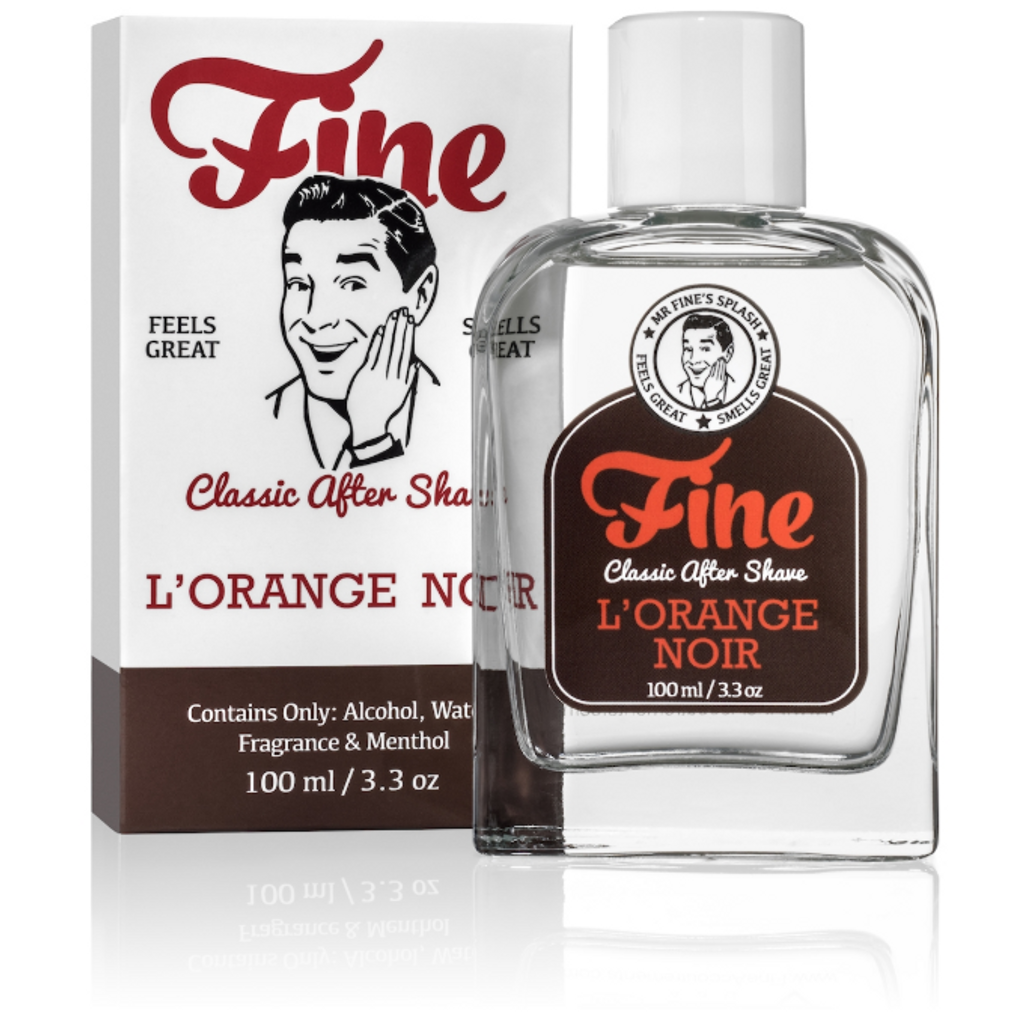 Fine Classic After Shave - L'Orange Noir 100ml   Agent Shave   Wet Shaving Supplies UK