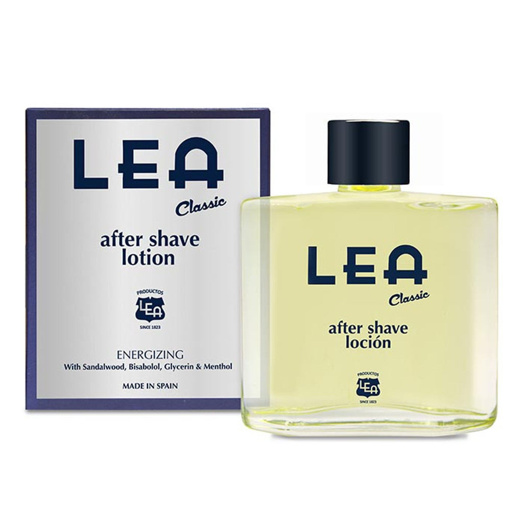 Lea Classic After Shave Lotion 100ml | Agent Shave | Wet Shaving Supplies UK