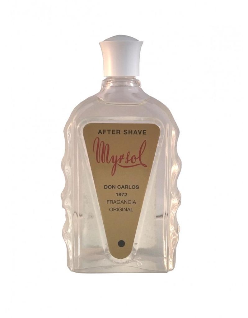 Myrsol After Shave - Don Carlos 1972 180ml   Agent Shave   Wet Shaving Supplies UK
