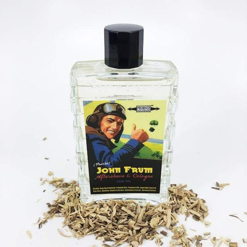 Phoenix Artisan Accoutrements John Frum Aftershave & Cologne 100ml | Agent Shave | Wet Shaving Supplies UK