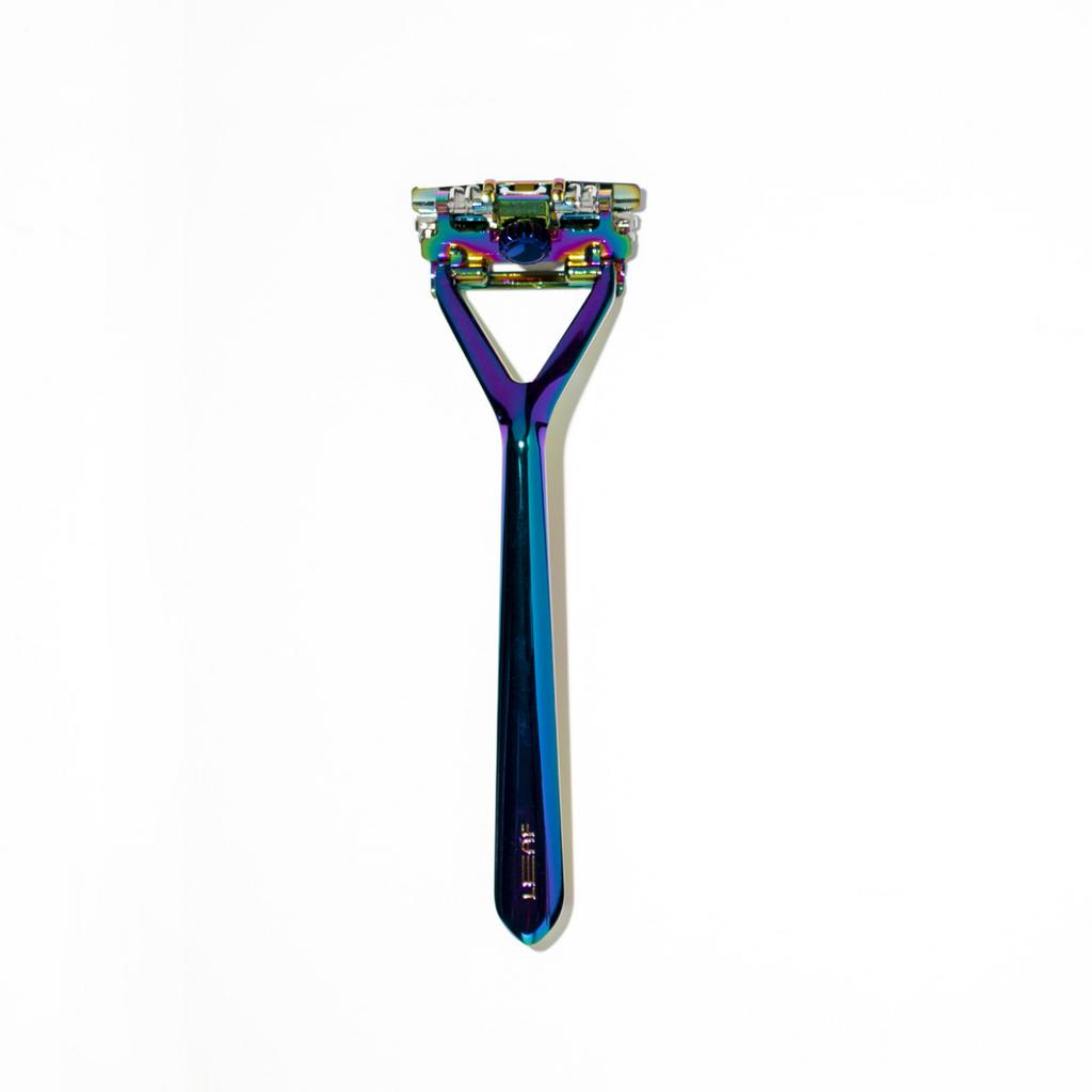 Leaf Shave Razor - Prism   Agent Shave   Wet Shaving Supplies UK