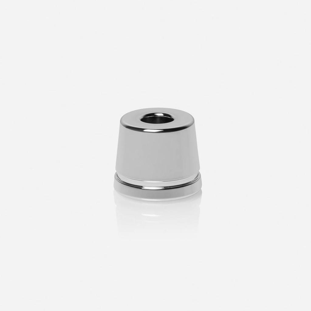 Rockwell White Chrome Safety Razor Stand 2C, 6C, 6S, Model T | Agent Shave | Wet Shaving Supplies UK