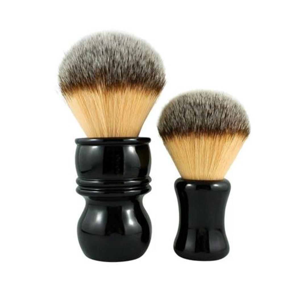 RazoRock The Hulk & Bruce  Plissoft Synthetic Shaving Brush | Agent Shave | Wet Shaving Supplies UK