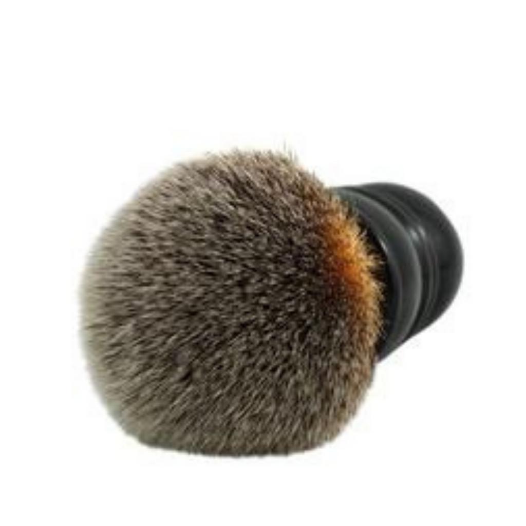 RazoRock Barber Shaving Brush Plissoft Synthetic 24mm | Agent Shave | Wet Shaving Supplies UK