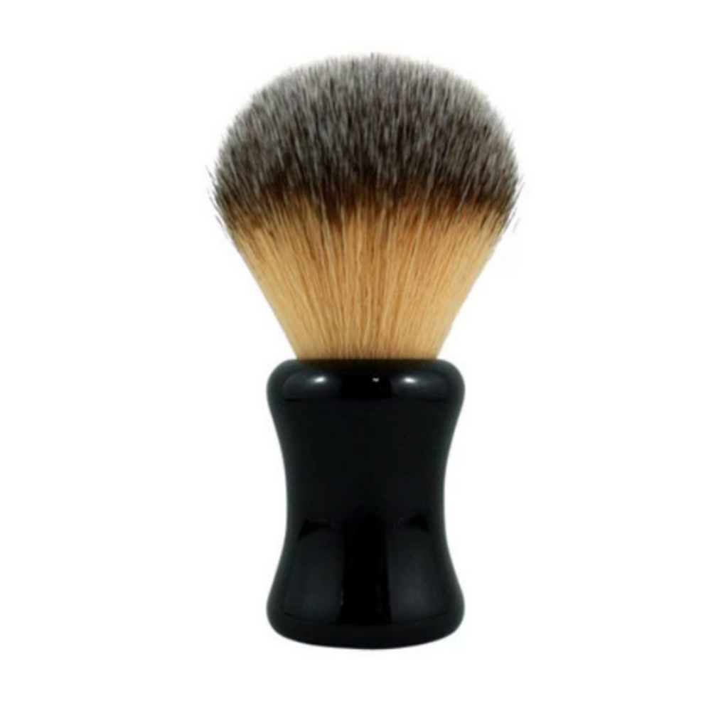 RazoRock Bruce Shaving Brush - 24mm Plissoft Synthetic Knot | Agent Shave | Wet Shaving Supplies UK