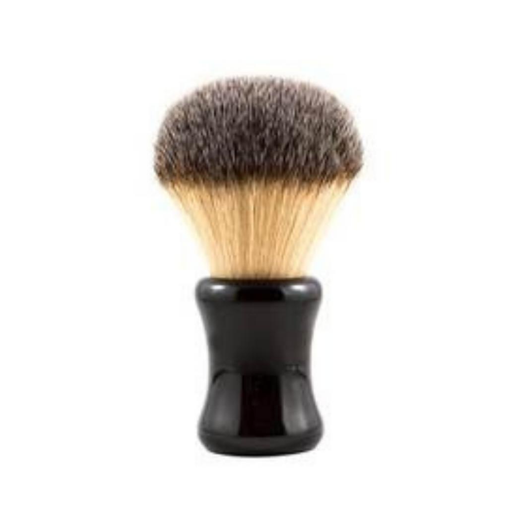 RazoRock Big Bruce Shaving Brush - Plissoft Synthetic 26mm Knot   Agent Shave   Wet Shaving Supplies