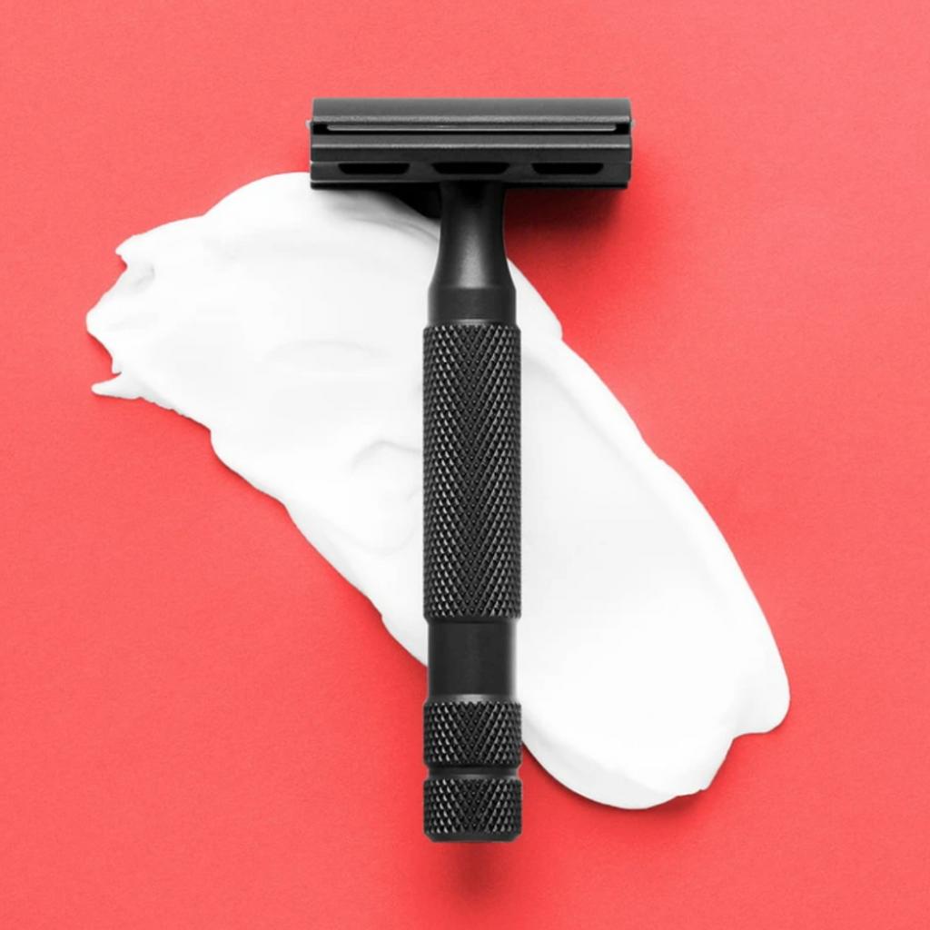 Rockwell 6s Safety Razor - Matte Black | Agent Shave | Wet Shaving Supplies UK
