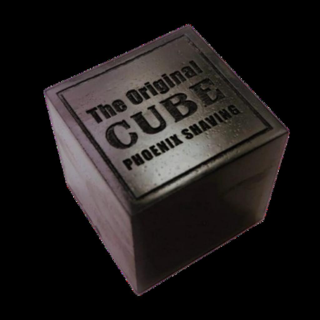 Phoenix Artisan Accoutrements Cube 2.0 Pre Shave Soap 8oz   Agent Shave   Wet Shaving Supplies UK