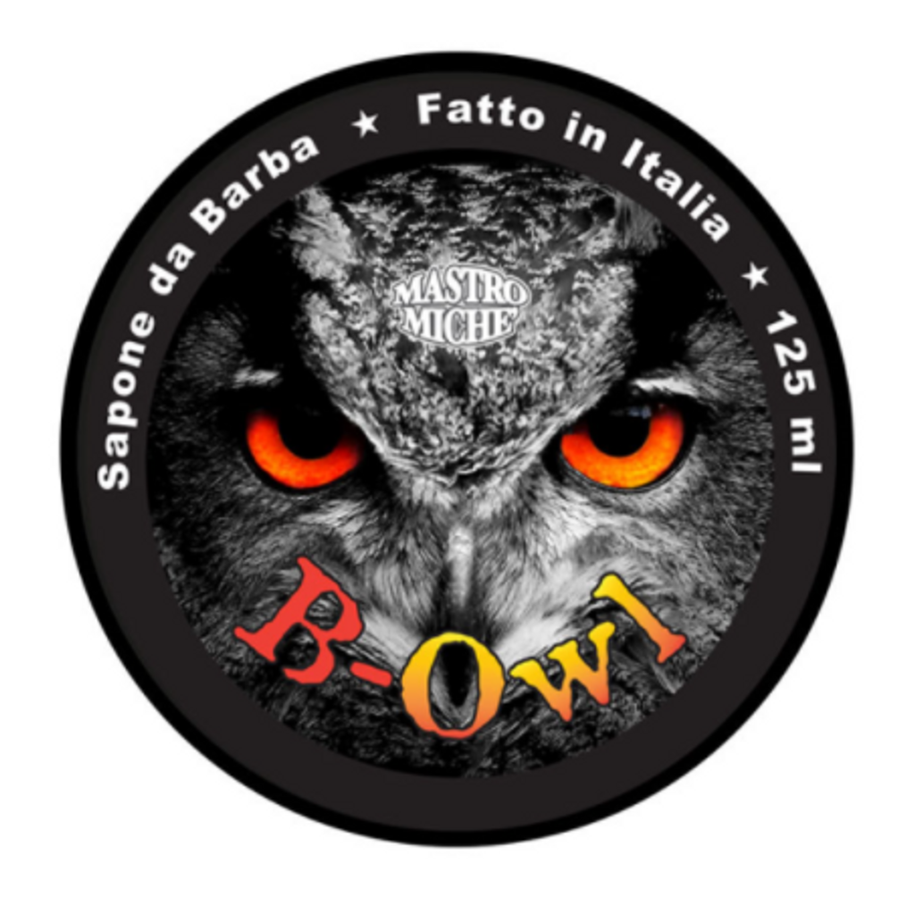 Mastro Miche Shaving Soap B-Owl 125ml | Agent Shave | Wet Shaving Supplies UK