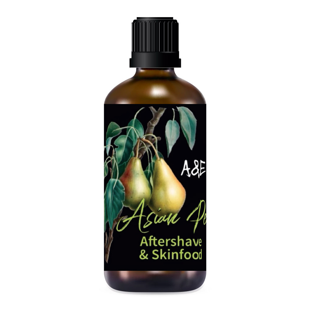 Ariana & Evans Asian Pear Aftershave 100ml   Agent Shave   Wet Shaving Supplies UK