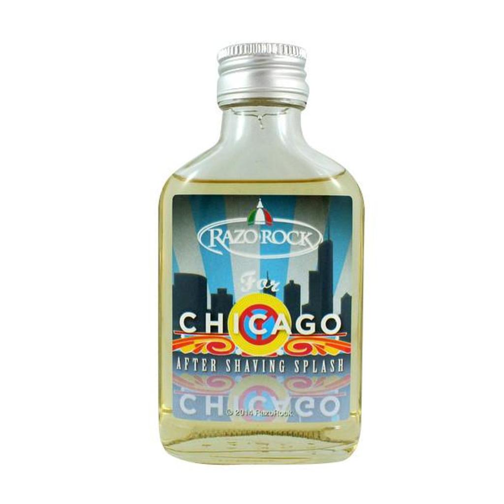 RazoRock For Chicago After Shaving Splash 100ml | Agent Shave | Wet Shaving Supplies UK