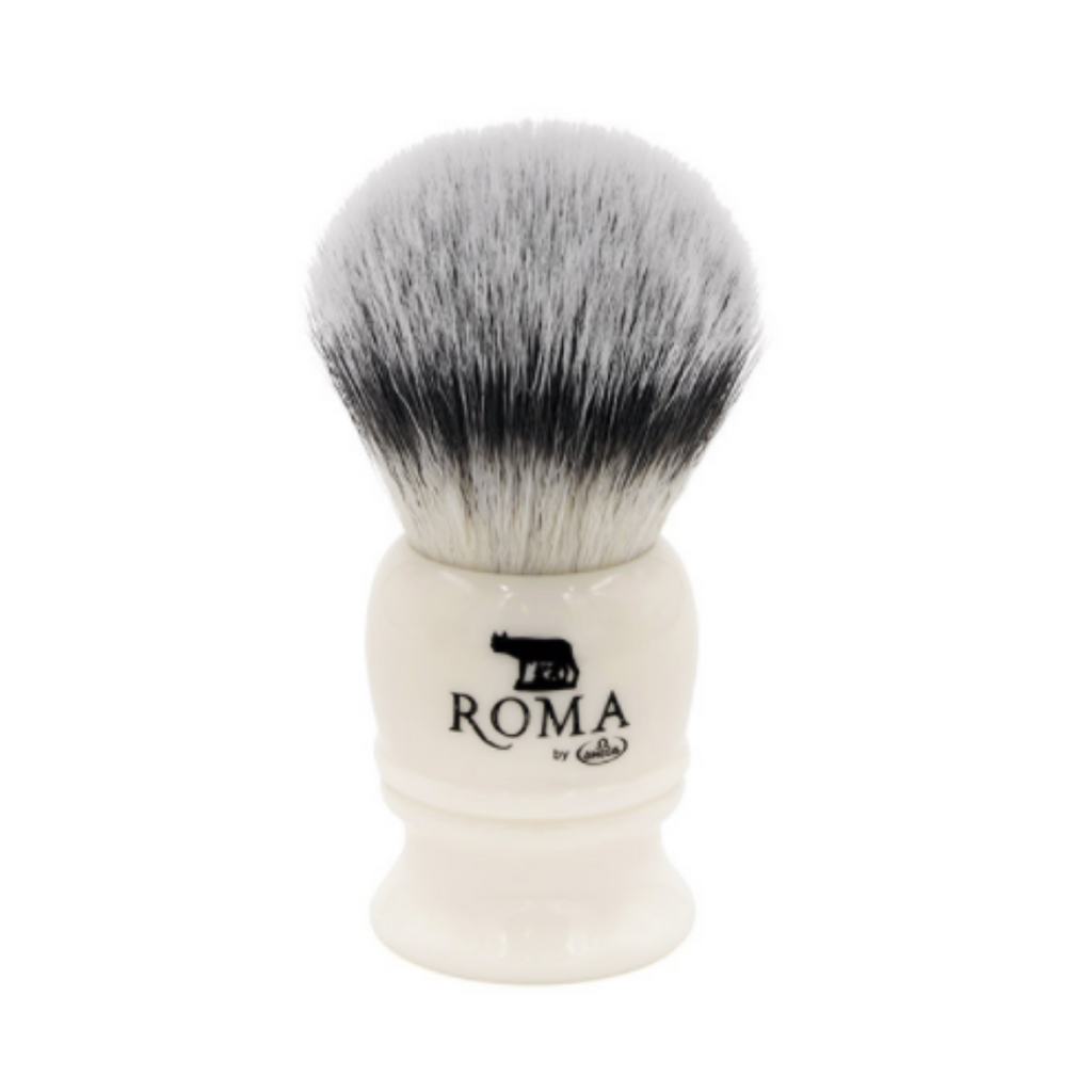 Omega Roma Capitoline Lupa Synthetic 26mm Shaving Brush | Agent Shave | Wet Shaving Supplies UK