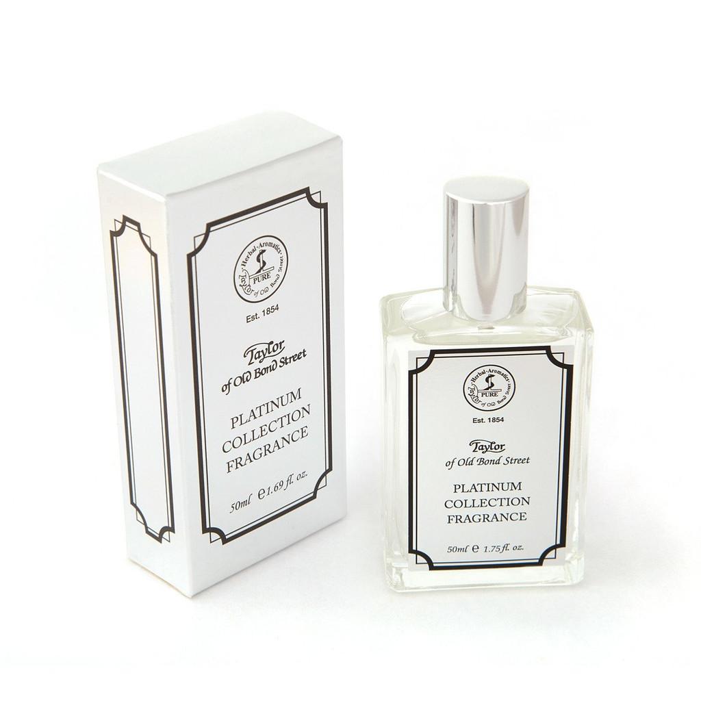 Taylor of Old Bond Street - Platinum Fragrance 50ml | Agent Shave | Wet Shaving Supplies UK