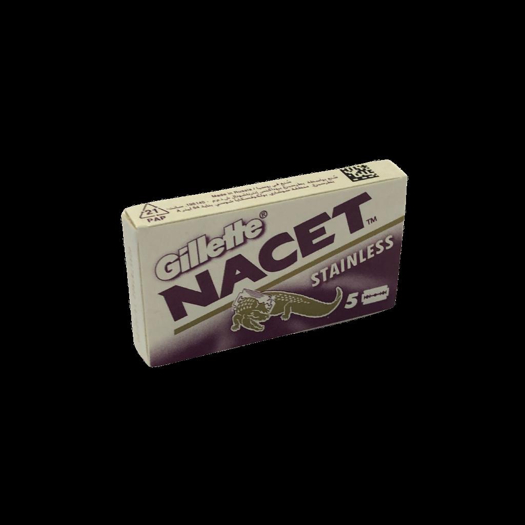 Gillette Nancet Double Edge DE Razor Blades 5s | Agent Shave | Wet Shaving Supplies UK