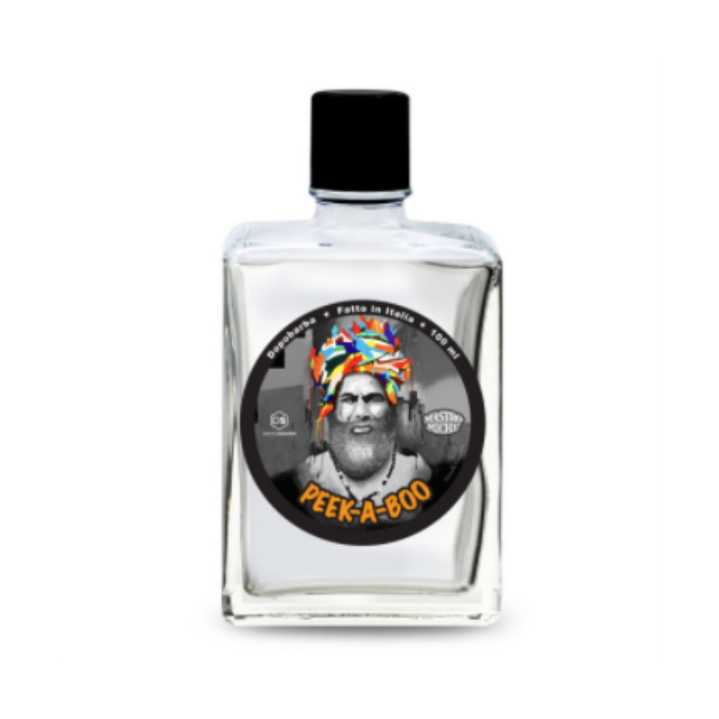 Mastro Miche Peek A Boo Aftershave 100ml | Artisan handmade in Italy | Agent Shave | Wet Shaving Supplies UK