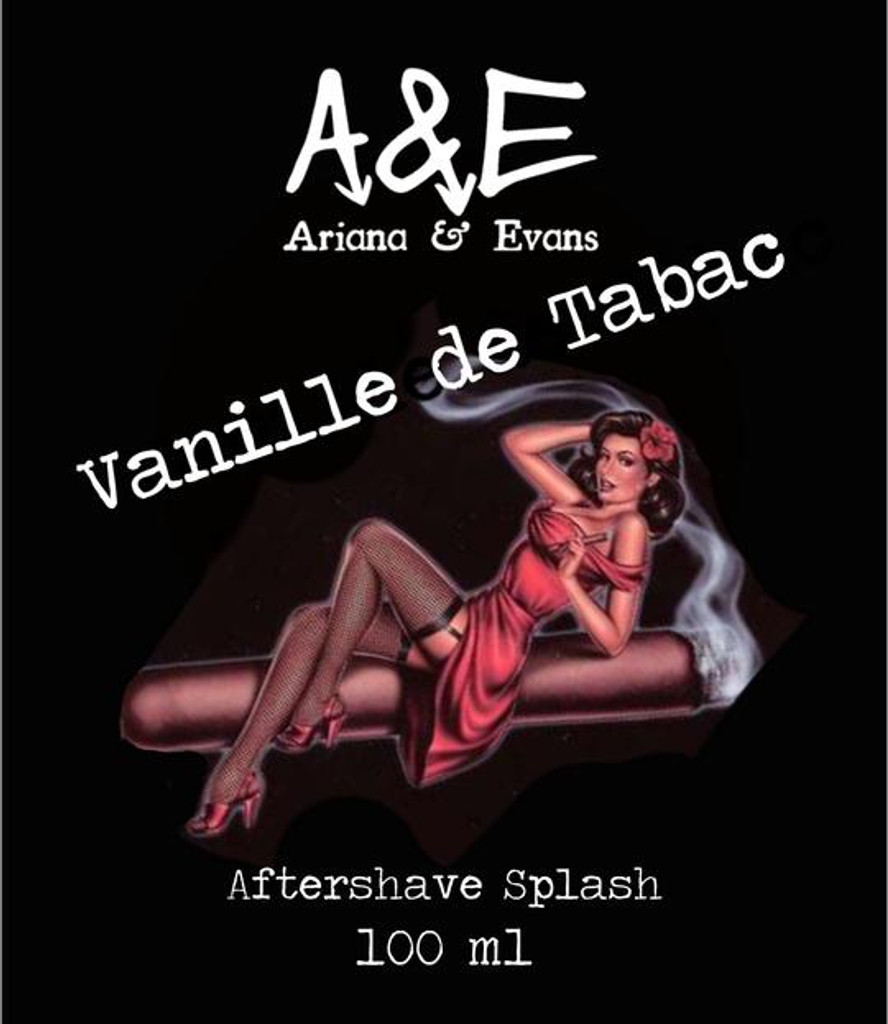 Ariana & Evans Vanille de Tabac Aftershave 100ml | Agent Shave | Wet Shaving Supplies UK