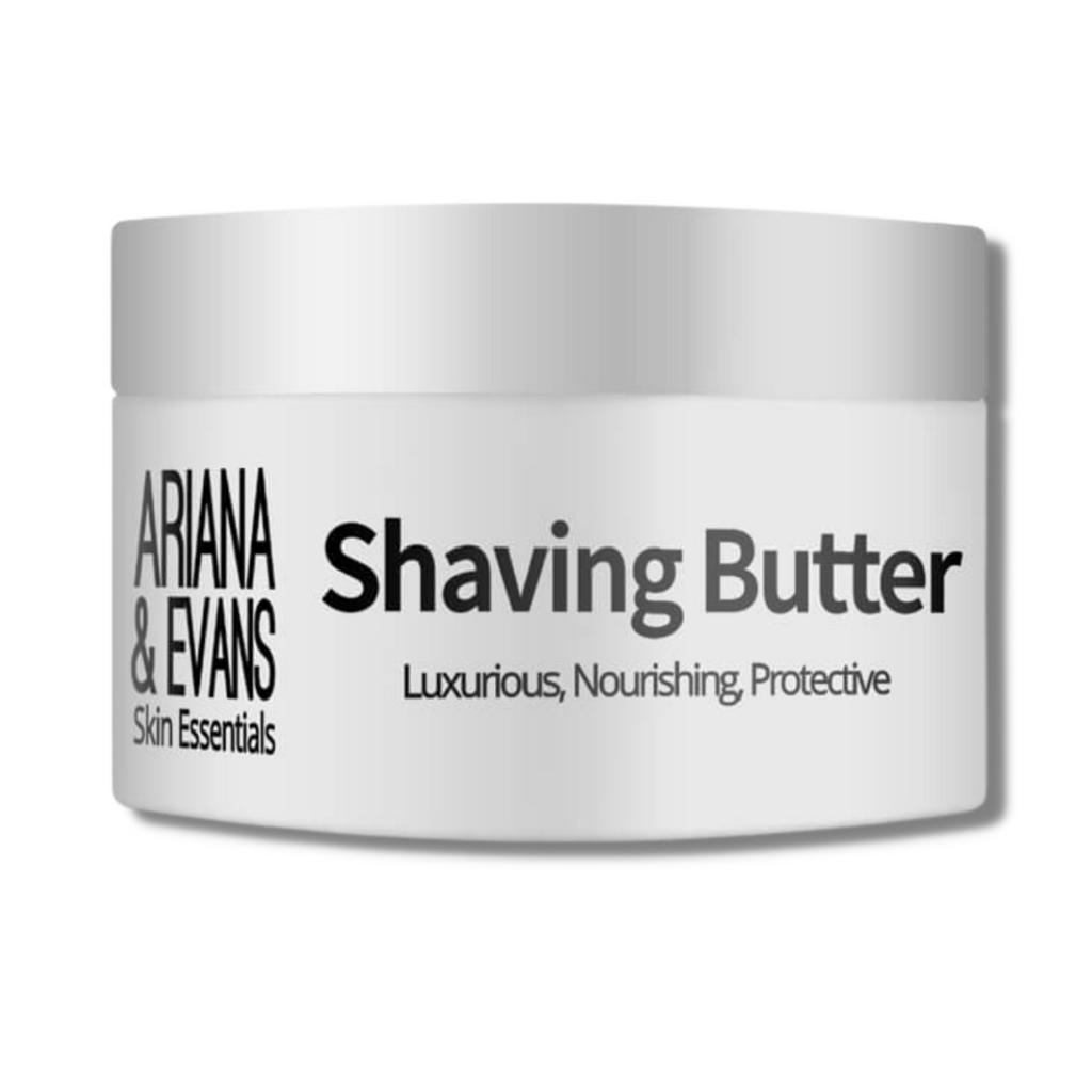 Ariana & Evans Vegan Shaving Butter - Unscented 118ml /4oz | Agent Shave | Wet Shaving Supplies UK