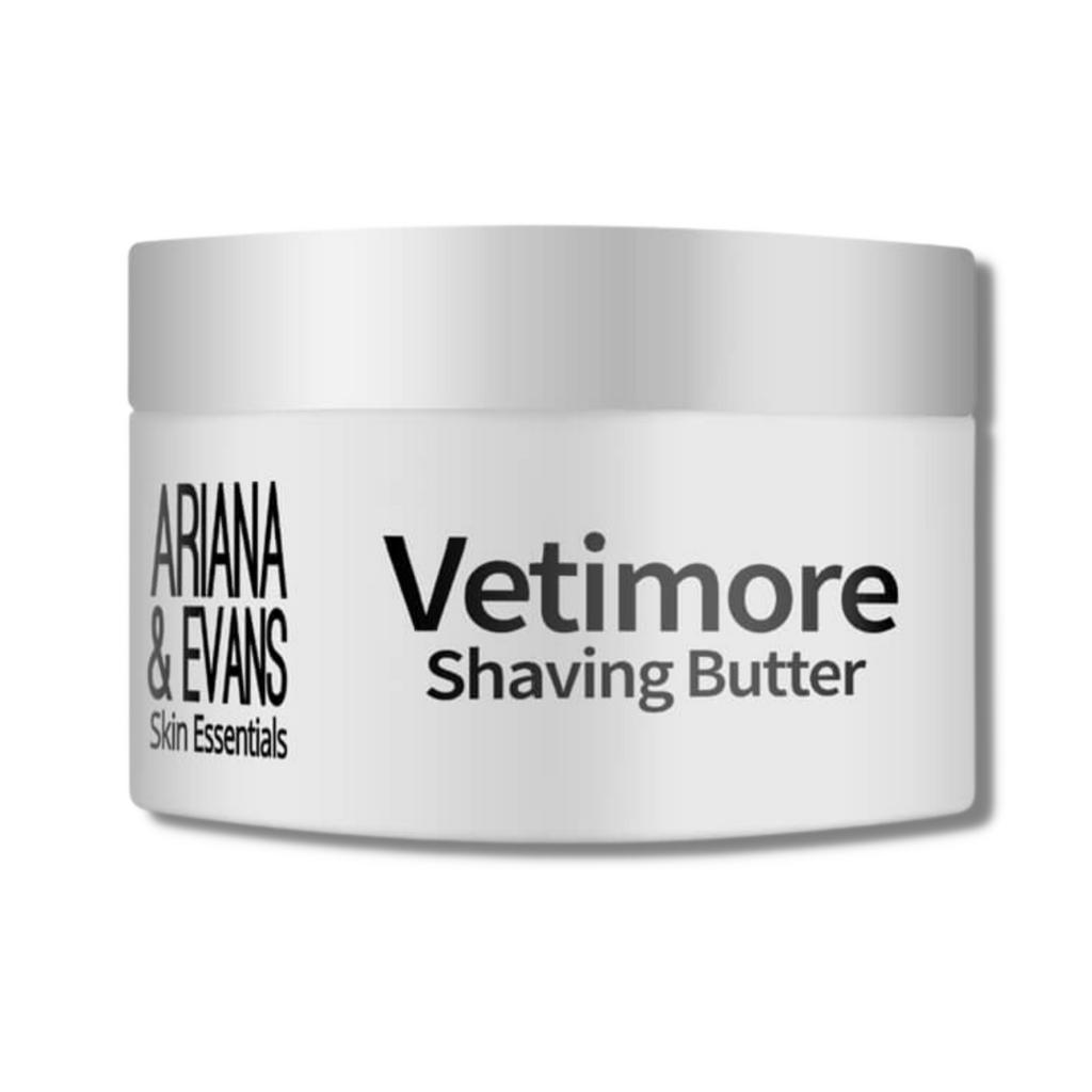 Ariana & Evans Vegan Shaving Butter - Vetimore 118ml /4oz   Agent Shave   Wet Shaving Supplies UK