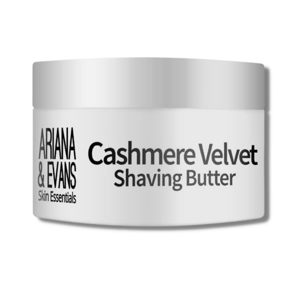 Ariana & Evans Vegan Shaving Butter - Cashmere Velvet 118ml /4oz | Agent Shave | Wet Shaving Supplies UK