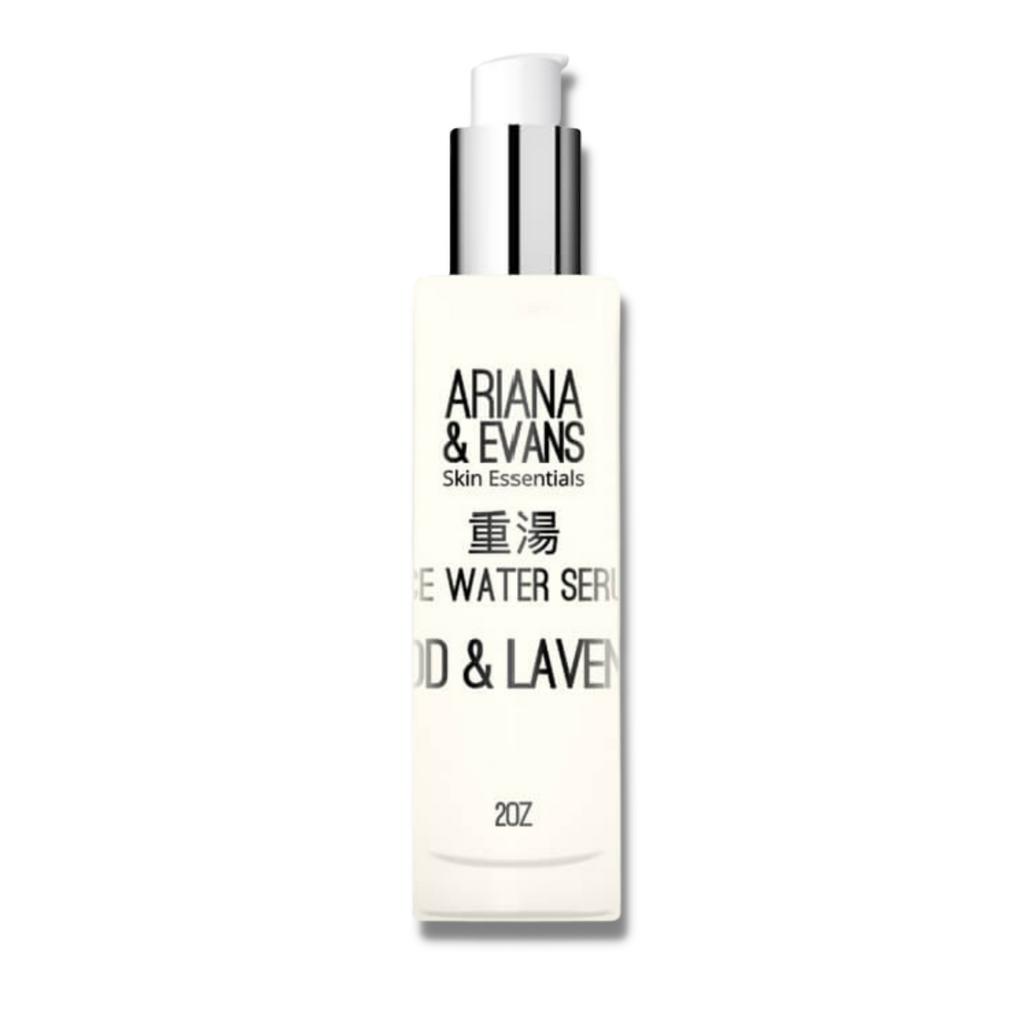 Ariana & Evans Wood & Lavender Rice Water Serum 59ml | Agent Shave | Wet Shaving Supplies UK