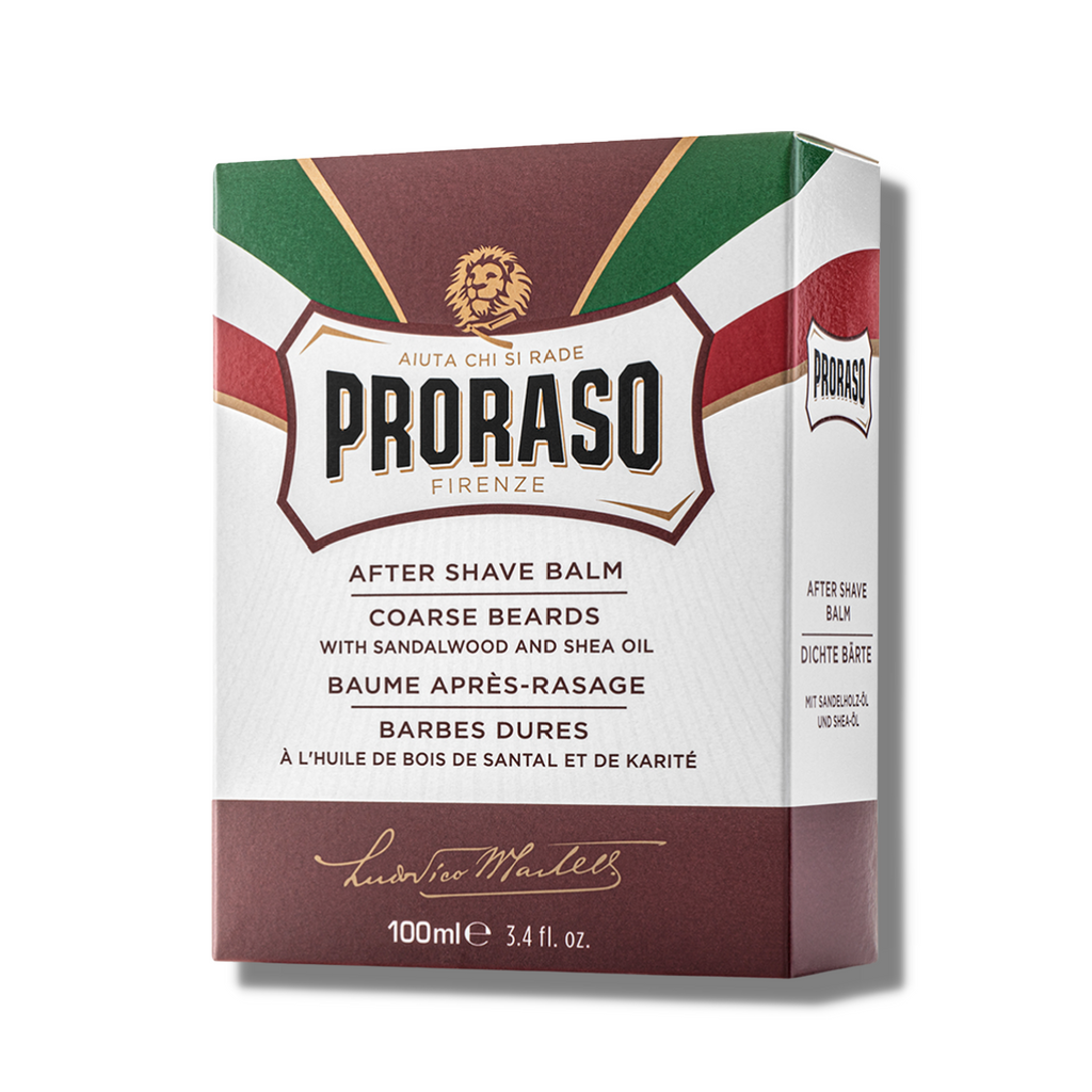 Proraso Red After Shave Balm - Nourishing 100ml | Agent Shave | Wet Shaving Supplies UK