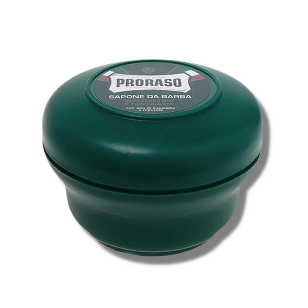 Proraso Green Shaving Soap - Refreshing 150ml | Agent Shave | Wet Shaving Supplies UK