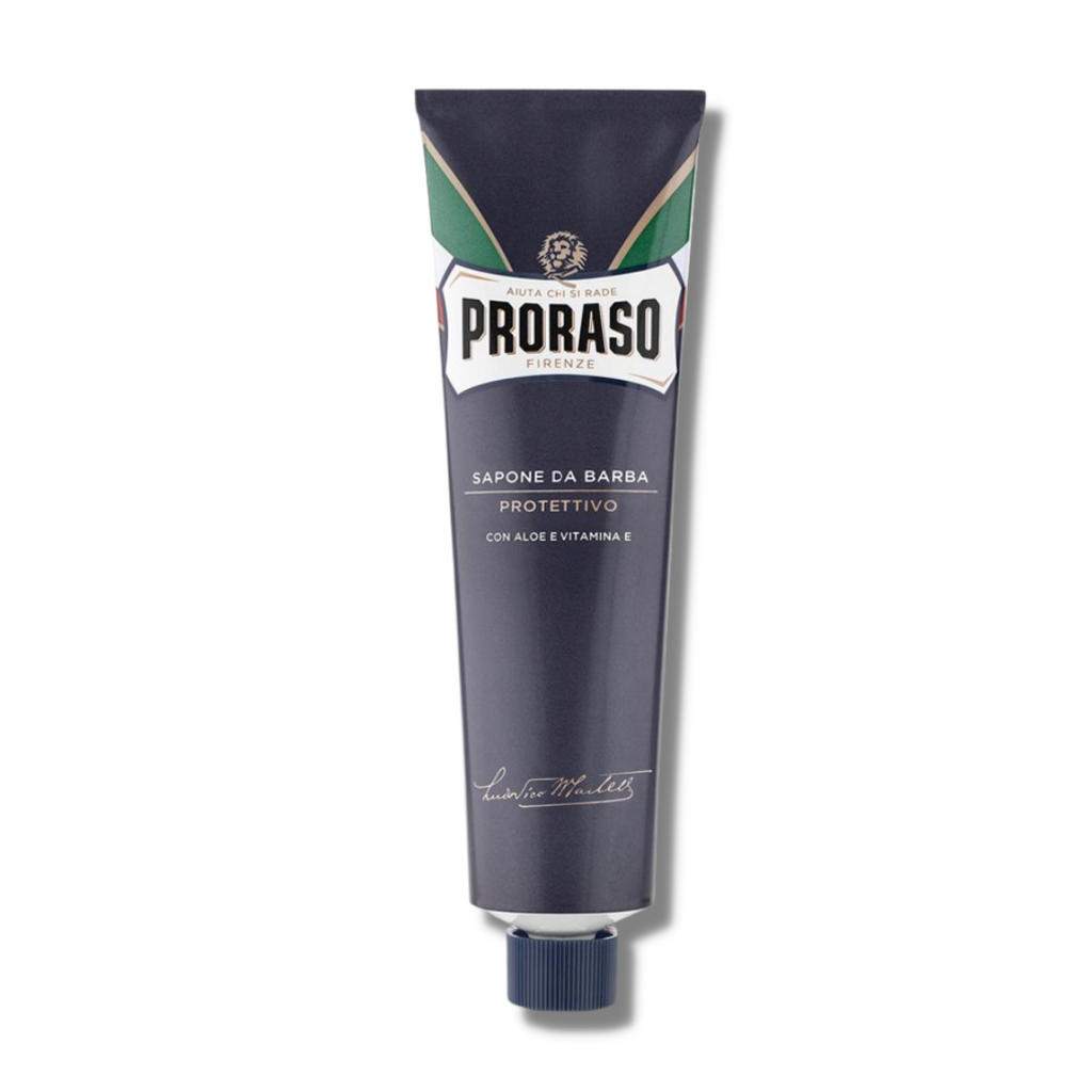 Proraso Blue Shaving Cream Tube (Protective) 150ml | Agent Shave | Wet Shaving Supplies UK