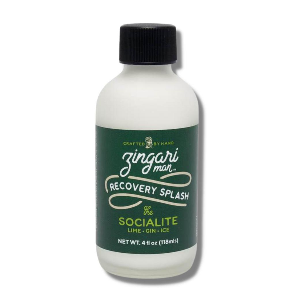 Zingari Man The Socialite Recovery Splash - Lime, Gin, Ice 118ml    Agent Shave   Wet Shaving Supplies UK