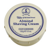 Taylor of Old Bond Street - Almond Shaving Cream 150g | Agent Shave | Traditional Wet Shaving