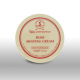 Taylor of Old Bond Street - Rose Shaving Cream 150g | Agent Shave | Traditional Wet Shaving
