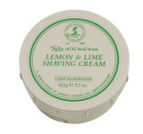 Taylor of Old Bond Street Shaving Cream - Lemon & Lime 150g | Agent Shave | Traditional Wet Shaving