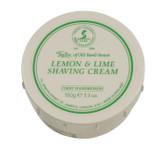 Taylor of Old Bond Street Shaving Cream - Lemon & Lime 150g | Agent Shave | Traditional Wet Shaving