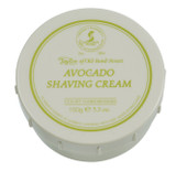 Taylor of Old Bond Street - Avocado Shaving Cream 150g | Agent Shave | Traditional Wet Shaving