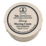 Taylor of Old Bond Steet - The St James Collection -  Luxury Shaving Cream 150g | Agent Shave | Traditional Wet Shaving