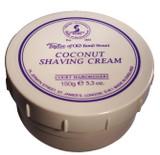Taylor of Old Bond Street - Coconut Shaving Cream 150g | Agent Shave | Traditional Wet Shaving