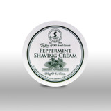 Taylor of Old Bond Street - Peppermint Shaving Cream 150g | Agent Shave | Traditional Wet Shaving