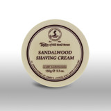 Taylor of Old Bond Street Sandalwood Shaving Cream 150g | Agent Shave | Traditional Wet Shaving